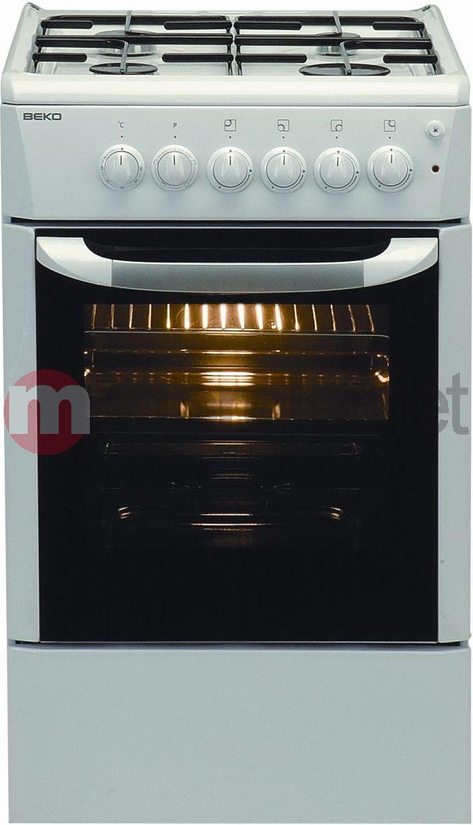Kuchenka Wolnostojąca Beko Gazowo Elektryczna Cm51010 S Id Produktu 98847