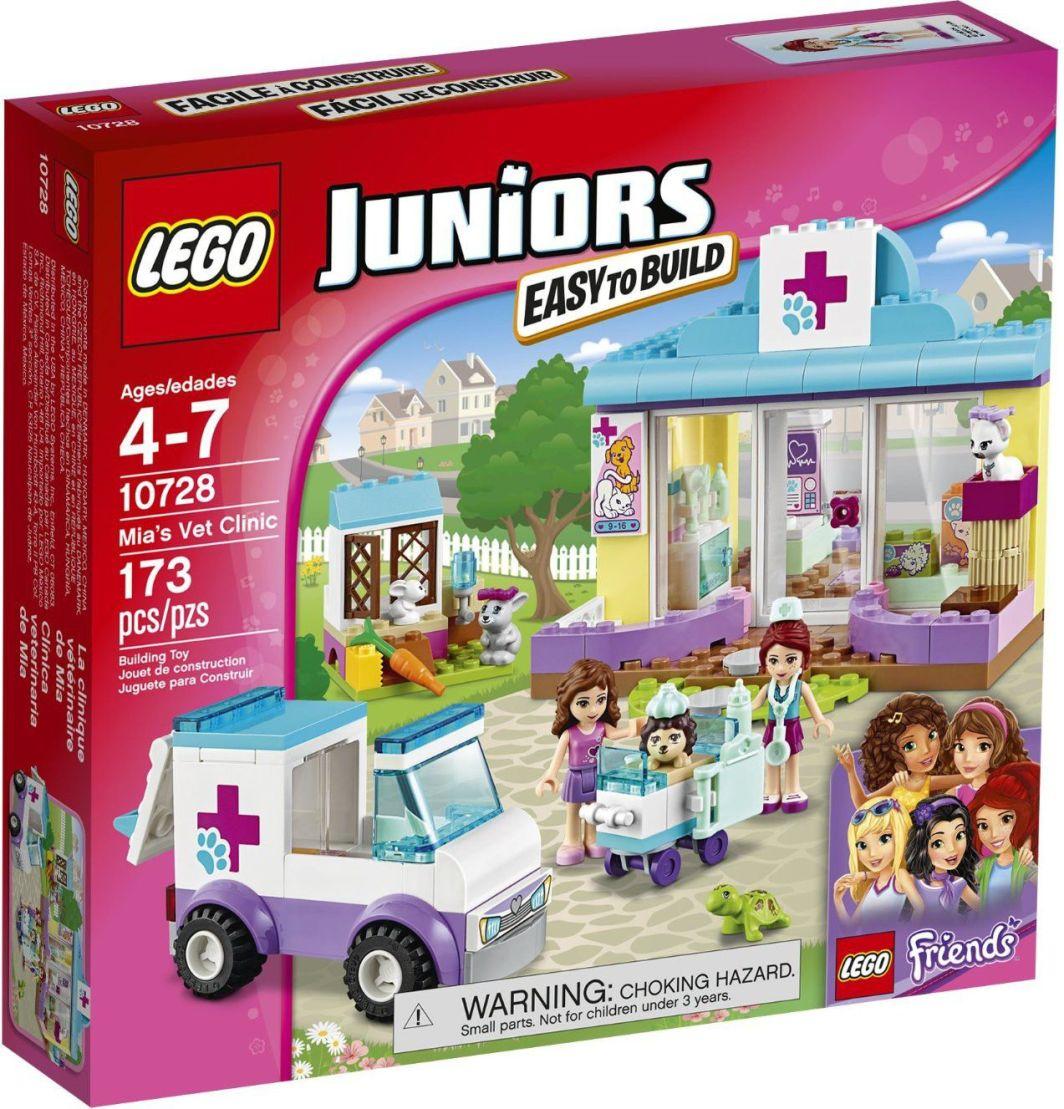 LEGO Juniors - Friends - Lecznica dla zwierząt Mii (10728) 1
