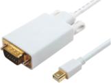 Kabel MicroConnect 2m biały (MDPVGA4W) 1