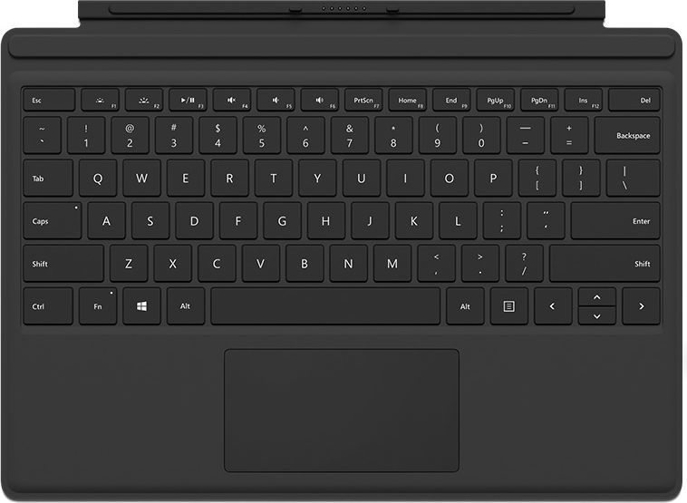 Microsoft Surface Pro 4 Type Cover Black (R9Q-00095) 1