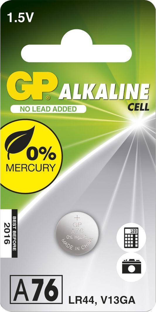 GP Bateria Cell LR44 1szt. 1