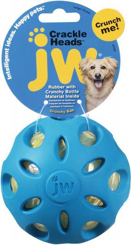 JW Pet CRACKLE HEADS CRACKLE BALL LARGE (47015) 1
