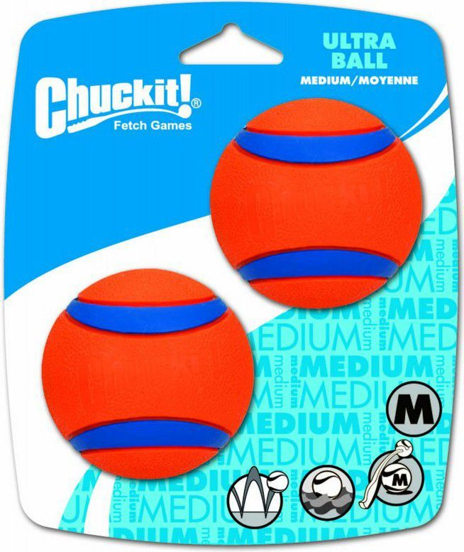 Chuckit! ULTRA BALL MEDIUM 2PAK (17001) 1