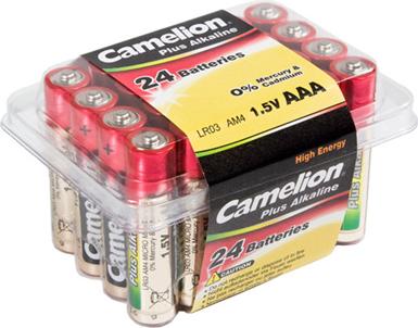 Camelion Bateria Plus AAA / R03 24szt. 1