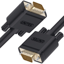 Kabel Unitek D-Sub (VGA) - D-Sub (VGA) 10m czarny (Y-C506G)