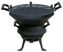 Mastergrill Grill żeliwny beczkowy 35,5cm (MG630)