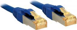 Lindy Patchcord Cat.7, S/FTP, PIMF, LSOH, 5m, niebieski (47281)