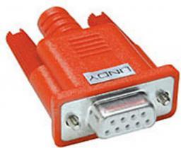 Adapter AV LINDY Serieller LoopBack Stecker  9P-SubD/F - 60254