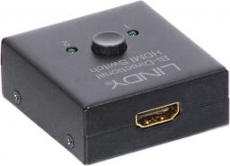 LINDY Switch 2x HDMI -1x HDMI (38036)
