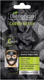 Bielenda Carbo Detox Oczyszczająca maska węglowa do cery mieszanej i tłustej 8g
