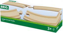 Brio Zestaw 4 torów, długi łuk (33342)