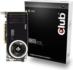 Karta graficzna Club 3D GeForce 8800 8800GTS 320MB 320BIT DDR3