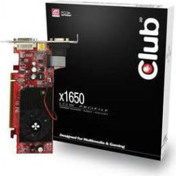 Karta graficzna Club 3D Radeon X1650 X1650 256MB DDR2 ATX/LP