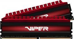 Pamięć Patriot Viper 4, DDR4, 16 GB,3733MHz, CL17 (PV416G373C7K)
