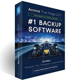 Program Acronis True Image 2017 BOX (TJ3XB2DES)