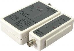 LogiLink Tester kabli do RJ45 i BNC (WZ0011)