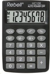 Kalkulator Rebell HC108  (RE-HC108 BX)