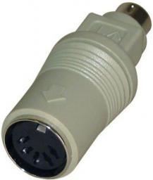 Logo adapter PS/2-DIN 5pin, M/F (68021)