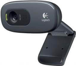 Kamera internetowa Logitech HD C270 Black (960-000963)