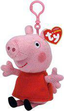 Meteor Maskotka Beanie Babies Lic Clip PEPPA PIG (8421461318)