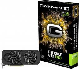 Karta graficzna Gainward GeForce GTX 1060 3GB GDDR5 (192 Bit) HDMI, DVI, 3xDP, BOX (426018336-3798)