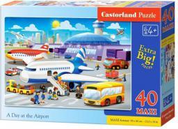 Castorland Dzień na lotnisku, 40 elementów (040223)