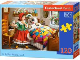 Castorland Puzzle Czerwony Kapturek 120 elementów (1005615)