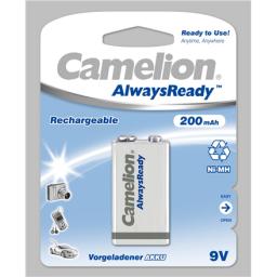 Camelion Akumulator AlwaysReady 9V Block 200mAh 1szt.