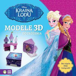 Zielona Sowa Kraina Lodu. Modele 3D do zlozenia. Disney 9788379837243 - 9788379837243