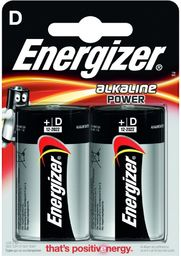 Energizer Bateria D / R20 2szt.