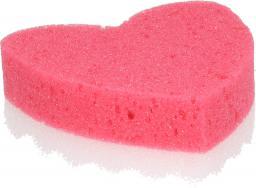 Grosik Gąbka kąpielowa z warstwą do masażu serce