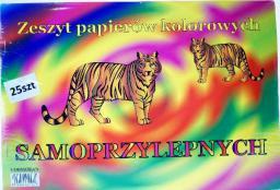 Blok biurowy Bertus Zeszyt samoprzylepnych papierów kolorowych