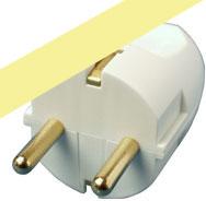 Kabel zasilający MicroConnect Schuko plug, Male - GRUSPSCHUKOM
