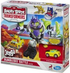 Hasbro Jenga Angry Birds Transformers (A7639)