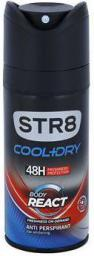 STR8 Cool+Dry Body React 48H Dezodorant 150ml
