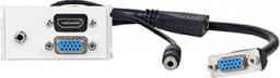 VivoLink Panel montażowy VGA + 3.5mm Jack + HDMI (WI221270)