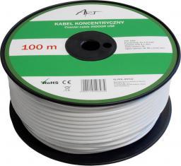 Przewód ART Antenowy, 100, Biały (AL-ROL-ANT02)