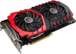 Karta graficzna MSI GeForce GTX 1060 Gaming 6GB GDDR5 (192 Bit) HDMI, 3xDP, DVI, BOX (GTX 1060 Gaming 6G)