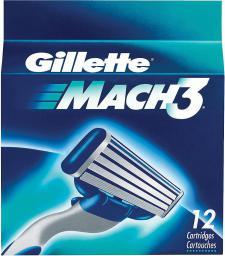Gillette Mach3 Wkłady do maszynki 12szt