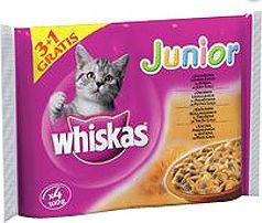 Whiskas Junior w sosie 4x100g