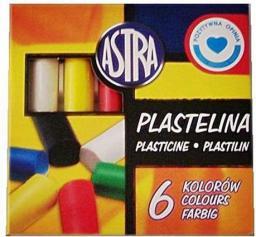 Bertus Plastelina 6 kolorów