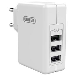 Ładowarka Unitek 3x USB 2.4A 24W (Y-P537B)