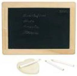 Goki Mała tablica do pisania z kredkami i gąbką (GOKI-58952)