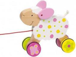 Plan Toys Drewniana owieczka do ciągnięcia (GOKI-54932)