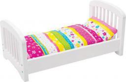 Goki Drewniane łóżeczko z pościelą (GOKI-51596)