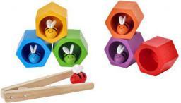 Plan Toys Plaster miodu z pszczółkami zabawka zręcznościowa, Plan Toys  - PLTO-4125