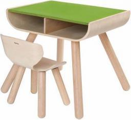 Plan Toys Stół + krzesło, Zielony (PLTO-8700)