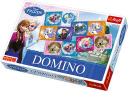 Trefl Domino - Kraina Lodu (01210)