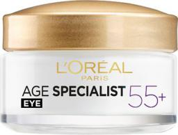 L'Oreal Paris Age Specialist 55+ Eye Cream - krem pod oczy 15ml