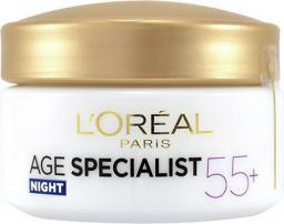 L'Oreal Paris Age Specialist 55+ Night Cream - przeciwzmarszczkowy krem na noc 50ml